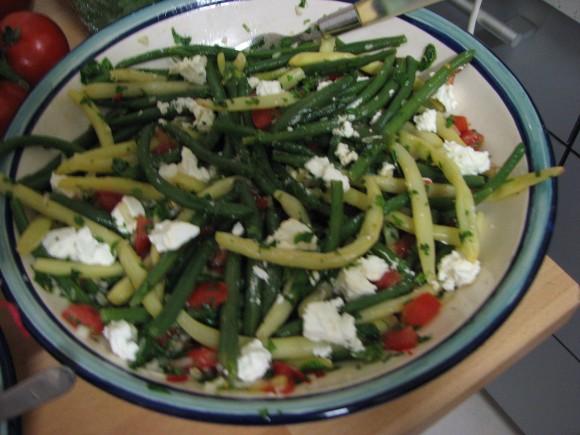 Feta & bean Salad